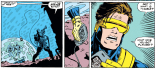 Maybe it's a universal remote! SERIOUSLY, CYCLOPS, I KNOW YOU WERE RECENTLY DEPRIVED OF OXYGEN, BUT IT'S VERY CLEARLY A DETONATOR. (X-Force #18)